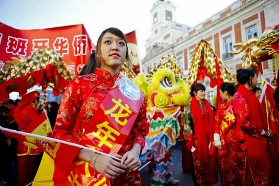 Desfile año nuevo chino Madrid