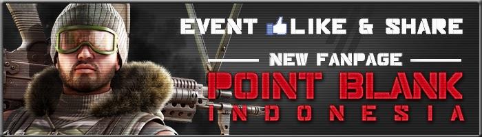 Mau G-Cash Gratis dan Senjata AUG-A3? Ikuti Event Like dan Share Fanspage Terbaru PB Indonesia