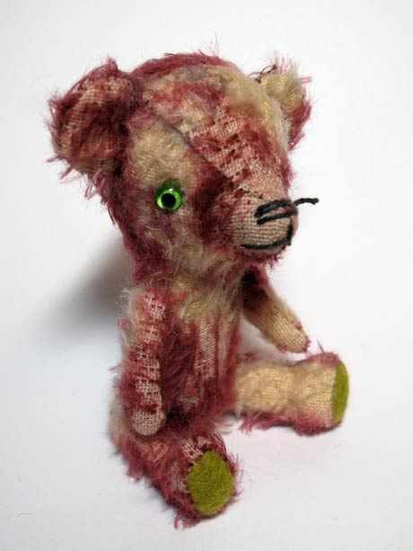 vintage style stick bear