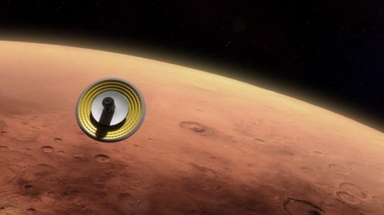 Reentrada en Marte