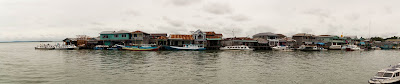 Tarakan from the pier