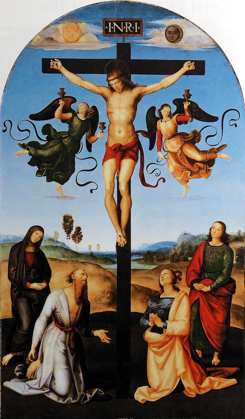 an analysis of the renaissance depiction of the crucifixion