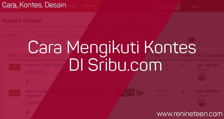 Cara dan Ketentuan Mengikuti Kontes Di Sribu.com