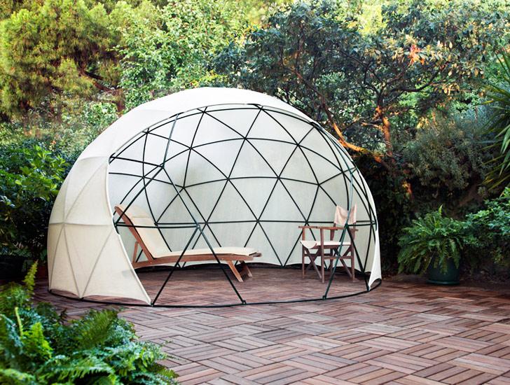 Alquimia Deco: Igloo, un jardu00edn-invernadero para tu casa