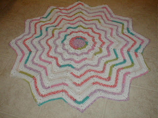 ROUND RIPPLE CROCHET PATTERN   Crochet For Beginners