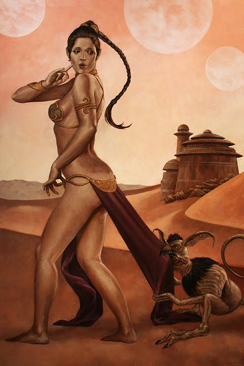 Opinion Princess leia slave girl sex