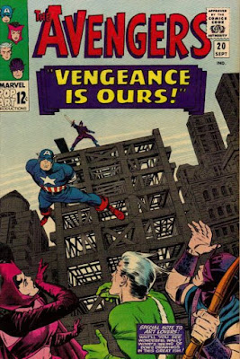 The Avengers #20, the Swordsman