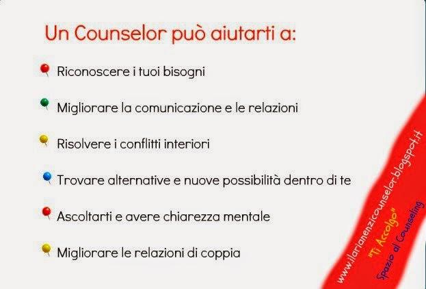 Un Counselor può aiutarti a