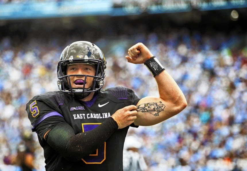 Football Off The Grid East Carolina Wins Again But Defense Leaves Much To Be Desired Against Smu