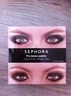 pro lesson palette sephora smokey eyes