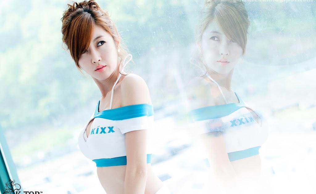 xxx nude girls: Yee Ah Rin - CJ SuperRace 2013