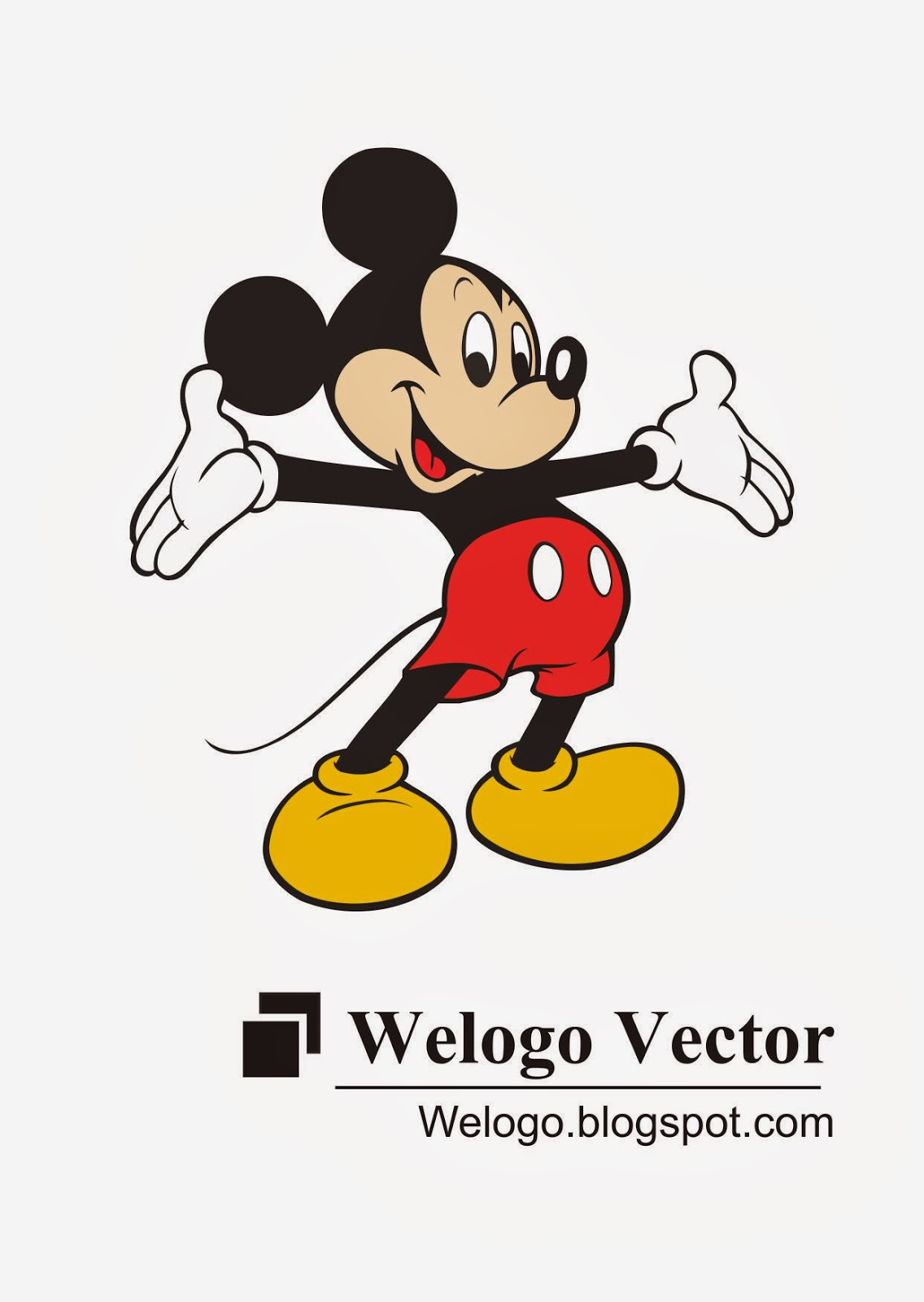 Mickey Mouse Cartoon vector