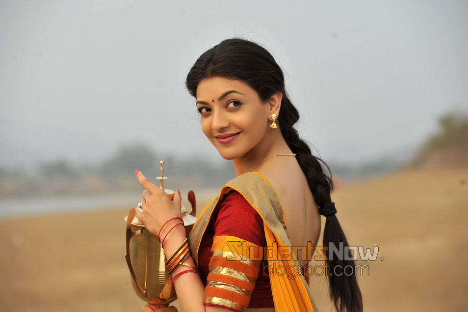 kajal agarwal traditional dress - photo #30