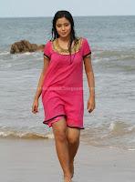 Hot, actress, poorna, wet, beach, photos