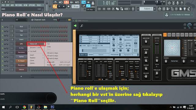 piano rolle nasıl ulaşılır