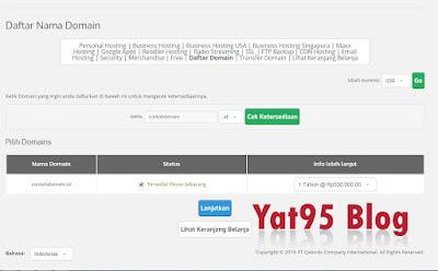 Cara mendapatkan domain TLD .id murah hanya 20rb