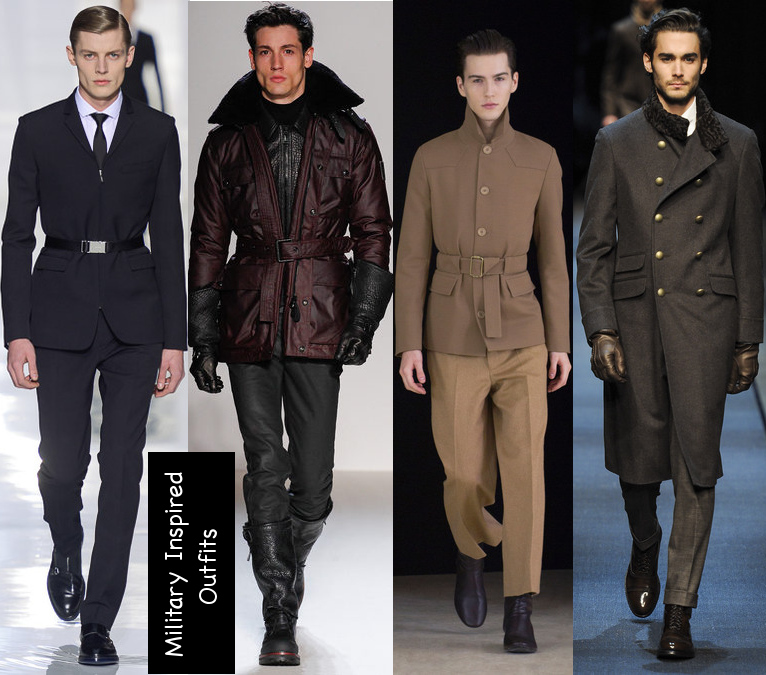 mens fall 2013 military outfits