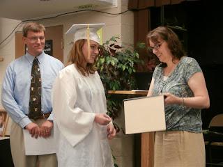 homeschool graduation diploma presentation