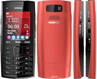 Harga dan Detail Spesifikasi Nokia X2-02