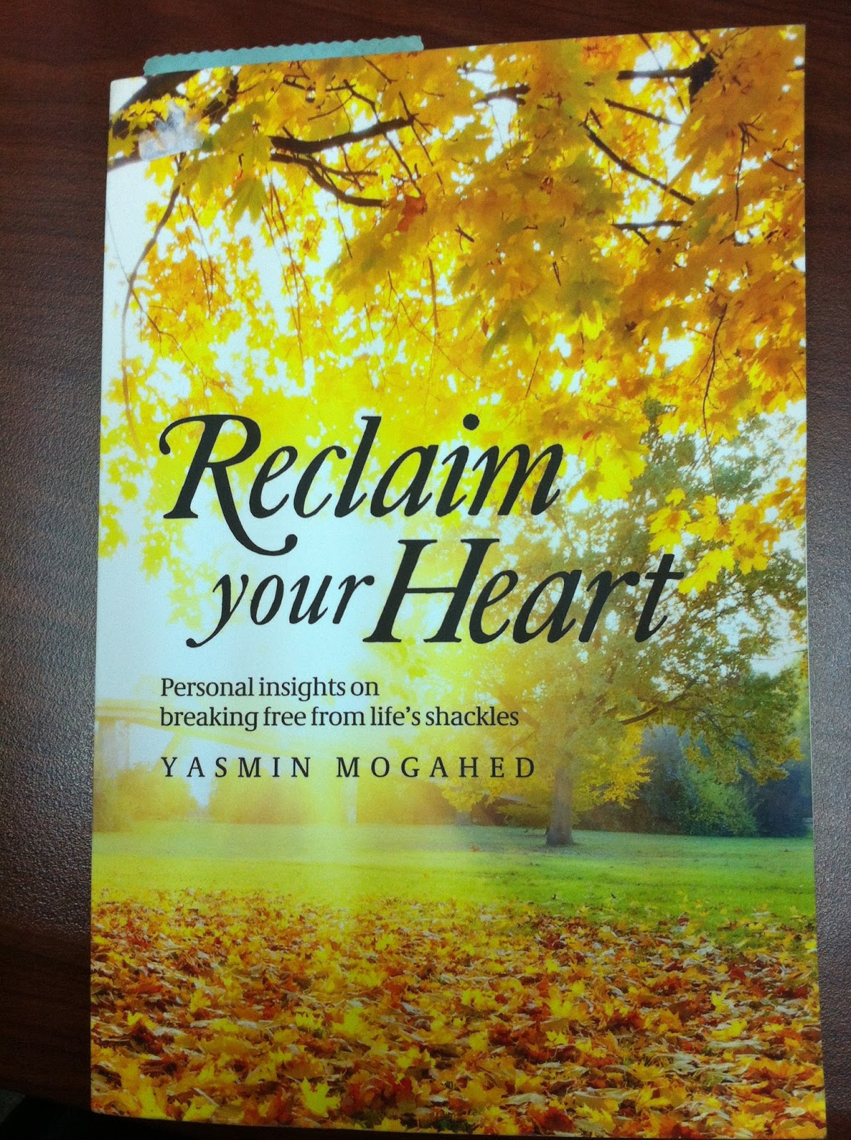 reclaim your heart Yasmin mogahed is a very special person to me through her lectures and articles, allah swt has helped me through my most difficult times and constantly reminded me that i must be patient because this life is merely a test mogahed reminds us in her newly published book reclaim your heart, that we.