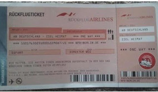 Αεροπορικό εισιτήριο από Γερμανία