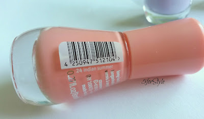 essence gel nail polish, 24 indian summer