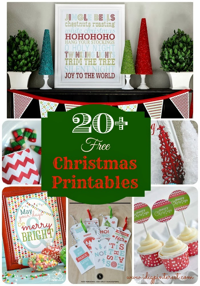 graphic about Grinch Pills Free Printable known as 20+ Fabulously Absolutely free Xmas Printables - I Dig Pinterest
