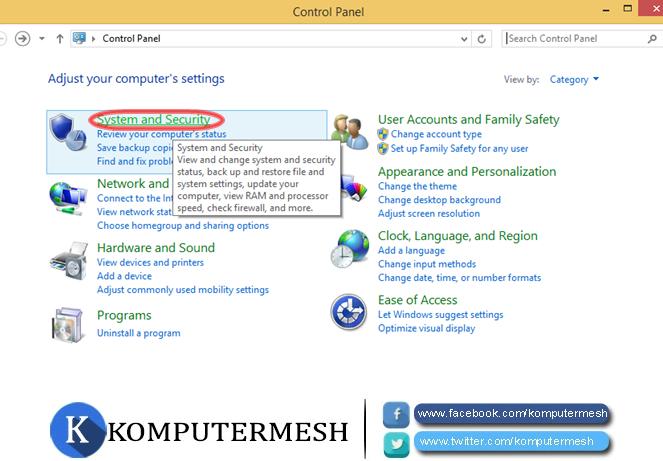 Cara Menonaktifkan (Disable) Windows Update di Windows 8