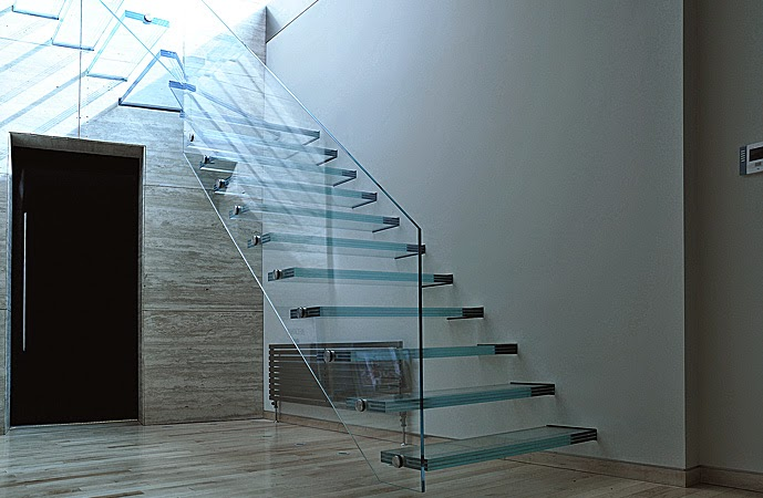 Luxury classic stairs designs and interior stair railing ideas for Interior glass railing designs