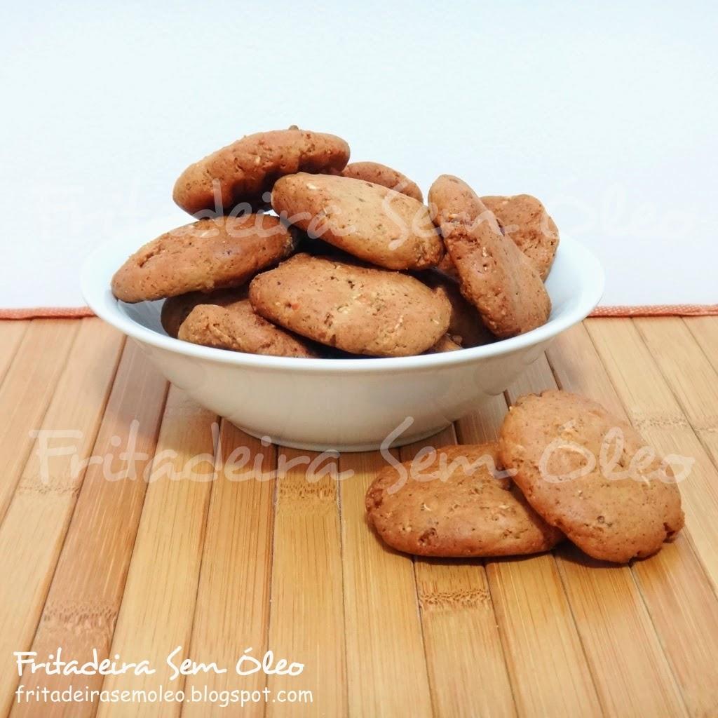 Cookies de Granola na AirFryer