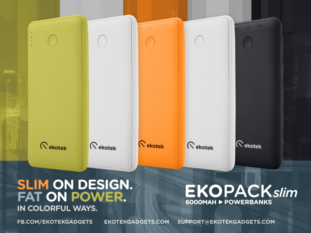 Ekopack Slim 6000mAh Powerbank