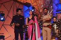 Celbs at the Umang Police Show 2014.