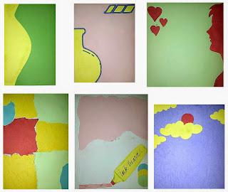 Membuat Kertas Seni untuk Media Puisi menggunakan kertas bekas