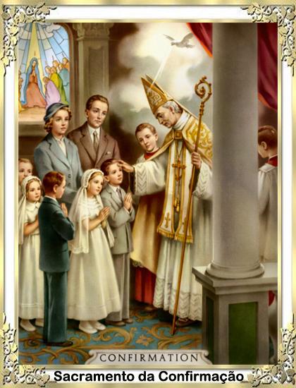 Crisma ou Confirmação-Catequese Papa Francisco