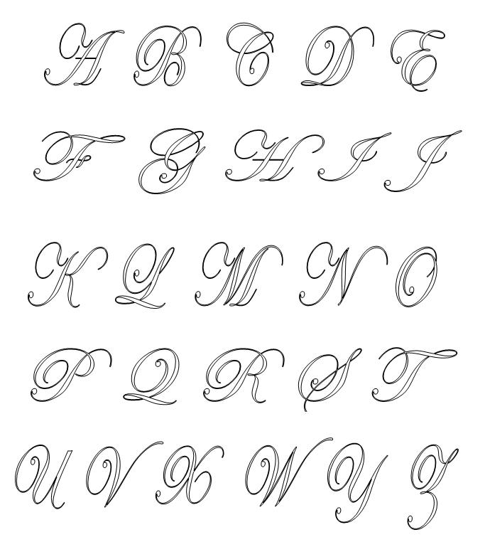 Alfabetos Para Pintura