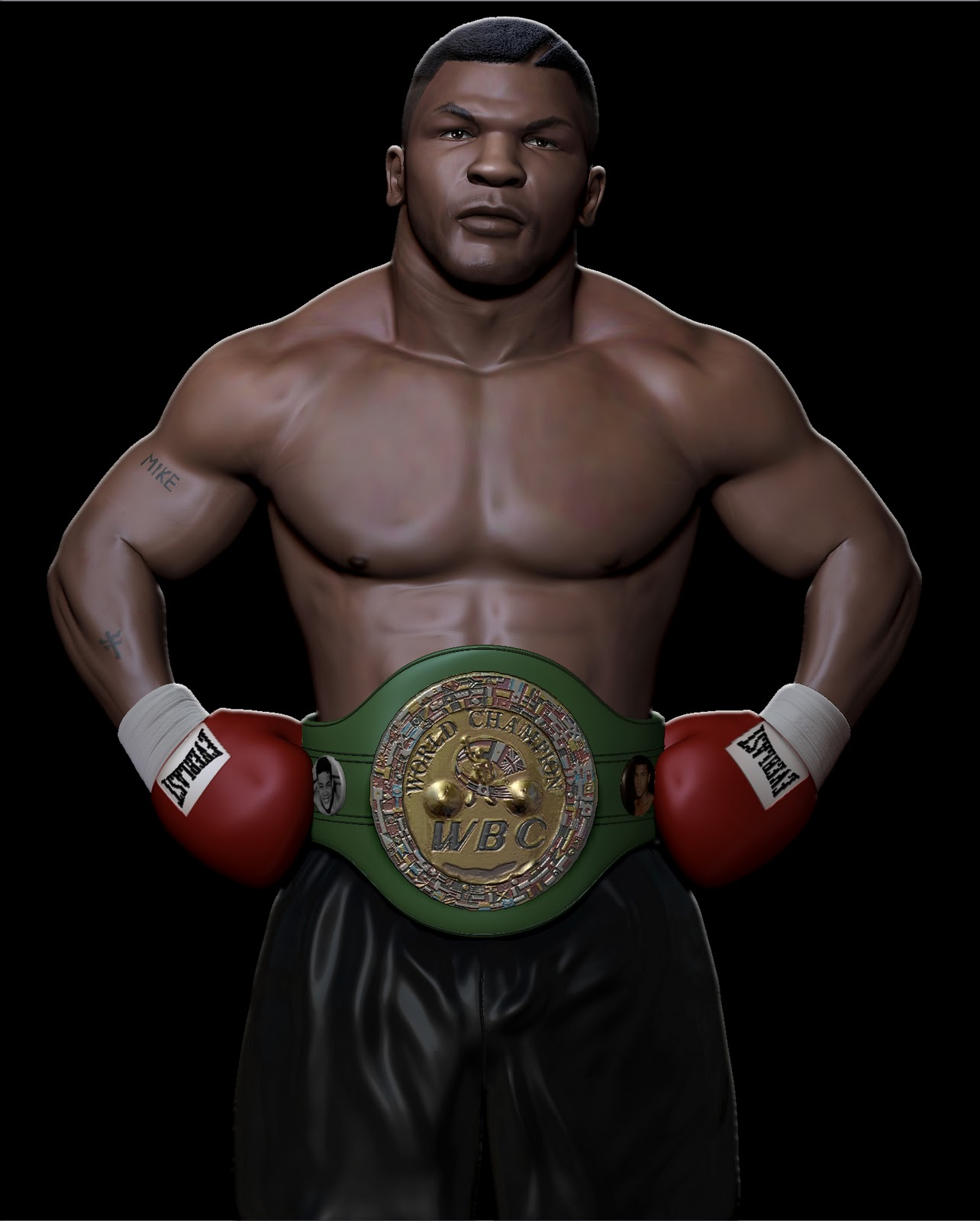 holyfield boxing poster