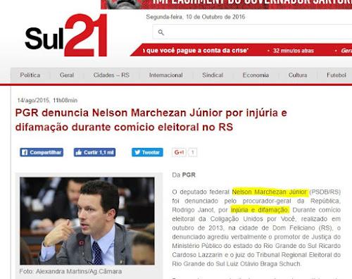 Candidato a prefeito Marchezan Porto Alegre