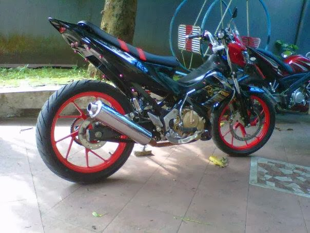 Demikianlah beberapa Gambar Modifikasi Motor Suzuki Satria FU 150 ...