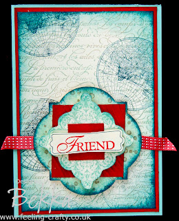 Stunning Friendship Card by Stampin' Up! Demonstrator Bekka Prideaux - check out her blog for lots of fab projects