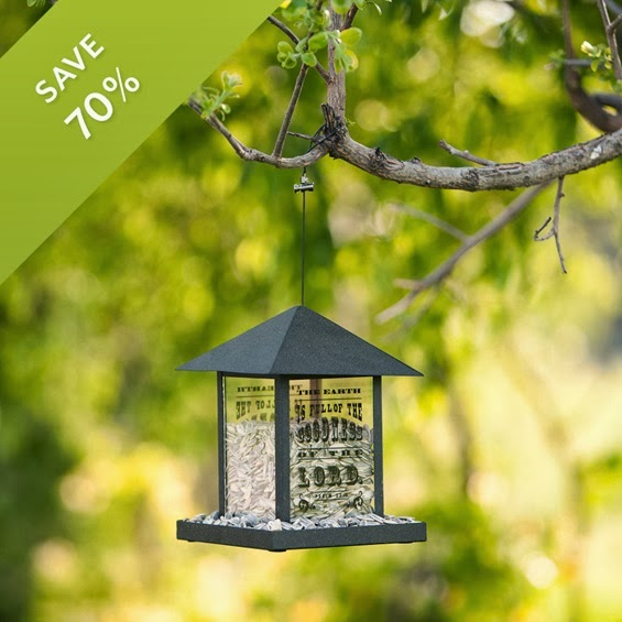 Redeemed Birdfeeder now only $8.99!