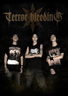 Terror Bleeding Band Black Death Metal Bandung