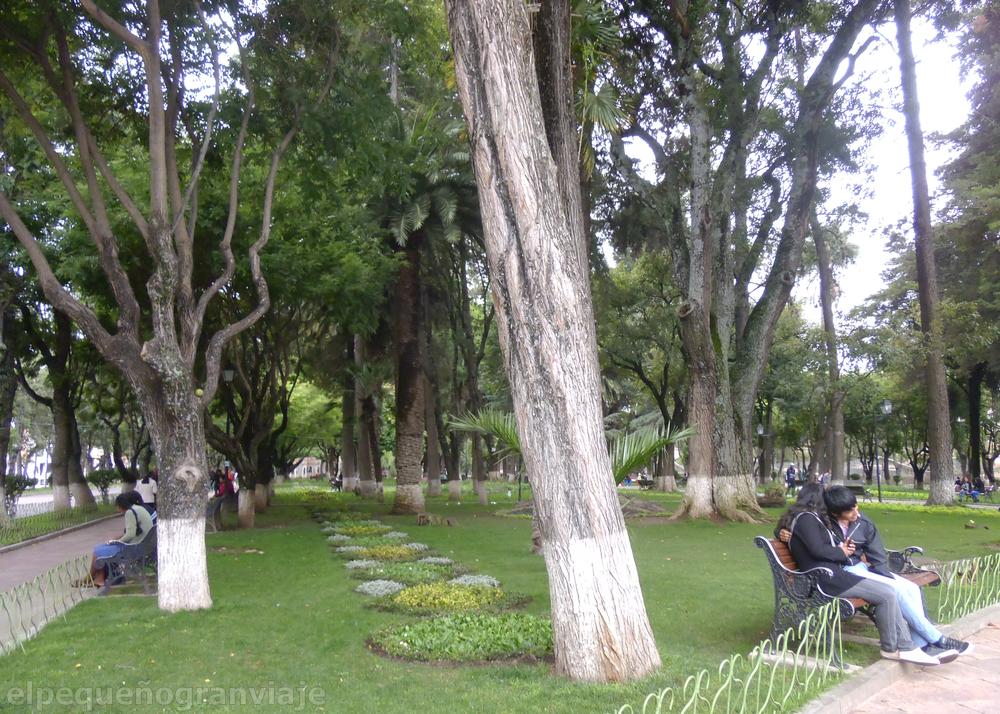 Parque Bolivar Sucre Bolivia