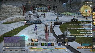 Limsa Lominsa Plaza from Final Fantasy 14