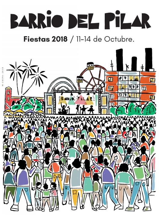 11 al 14 de octubre Fiestas barrio del Pilar
