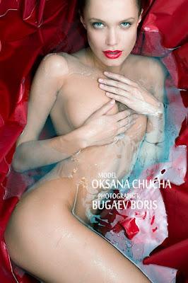 Fotos Artísticas de La Modelo Rubia Chucha Babuchina