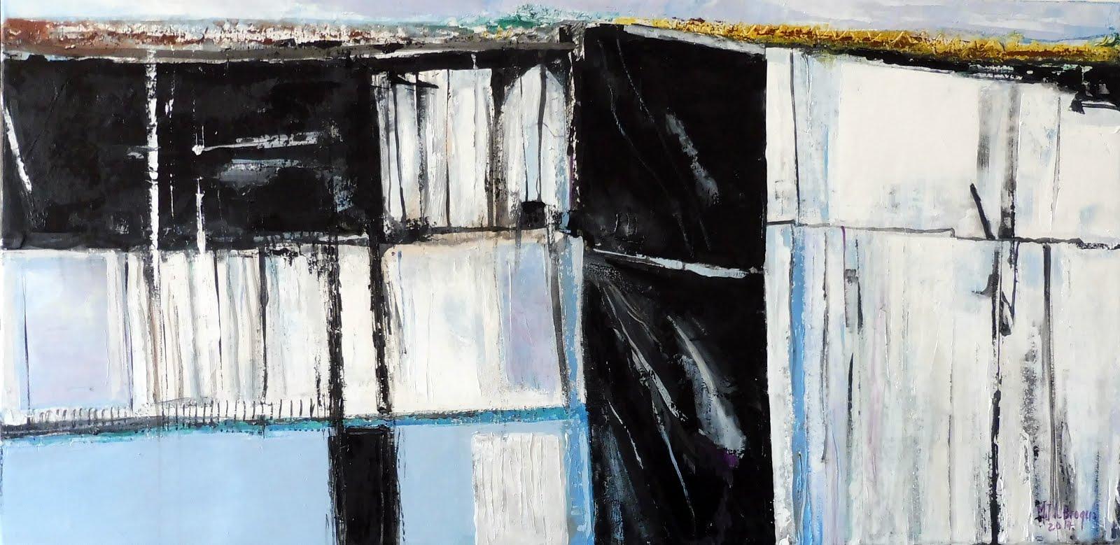 Cabane 1 - 80 x 40 cm - 2017