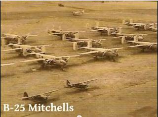 pesawat tempur B-25 Mitchells