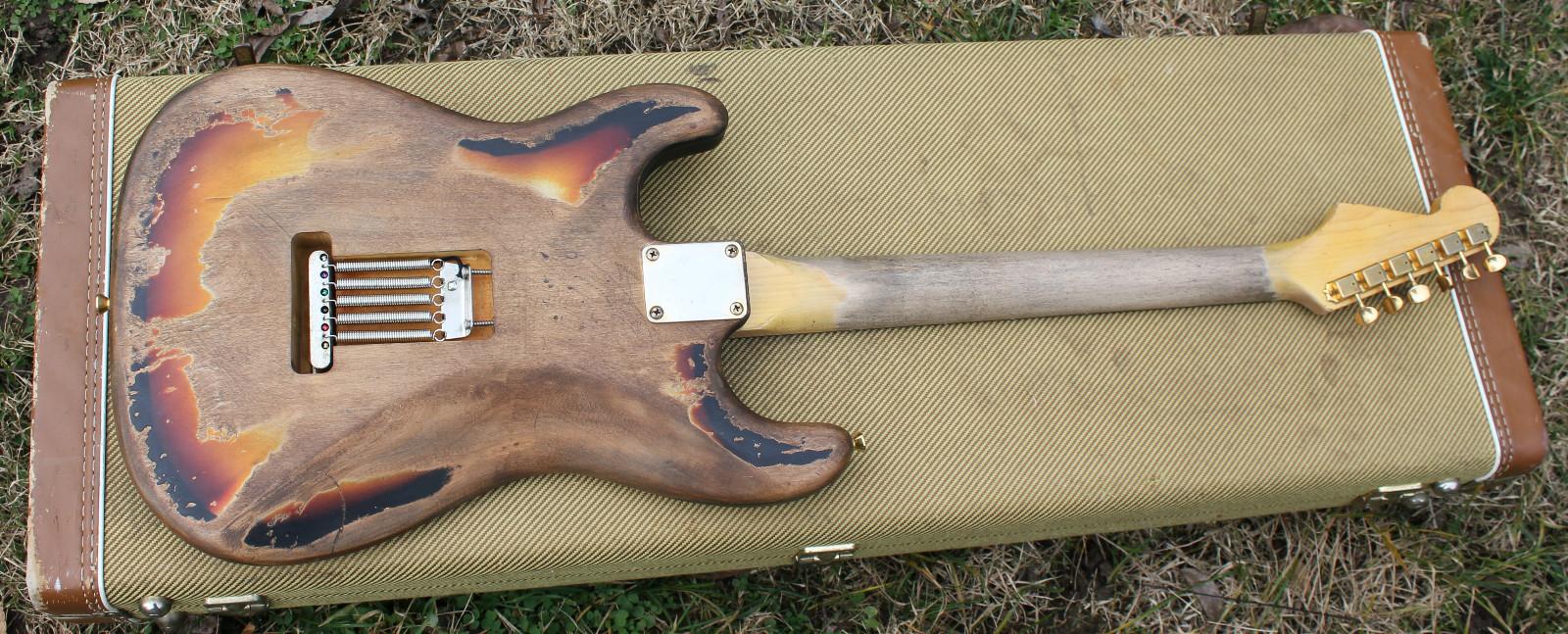 SRV 1 Tribute Strat By Banning Guitars Stratocaster Guitar - Wiring Diagram For Srv Strat
