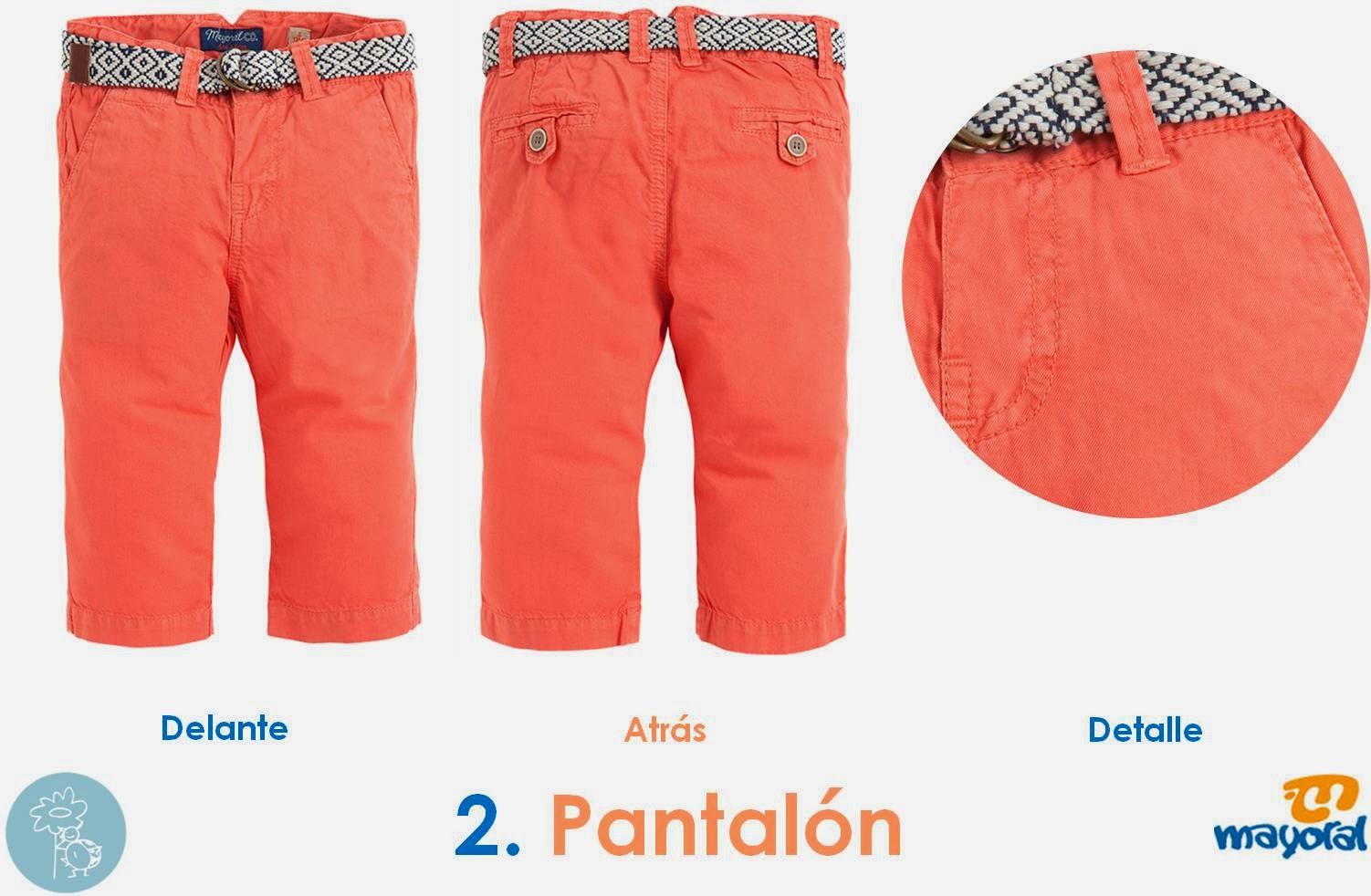 Pantalón Coral Mayoral colección baby en Blog Retamal moda infantil y bebe