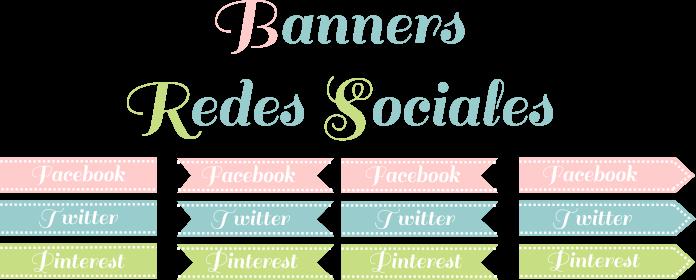 Banner de Redes Sociales para tu Blog